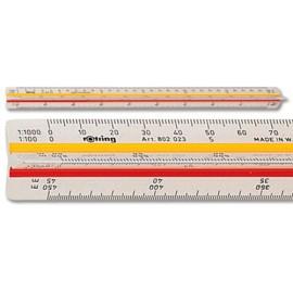 Линейка Rotring геодезическая 30 см S0220721