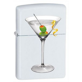 Зажигалка Zippo Classics BS Martini White Matte Zp28271