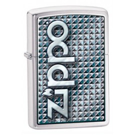 Зажигалка Zippo Classics 3D Abstract Emblem Brushed Chrome Zp28280