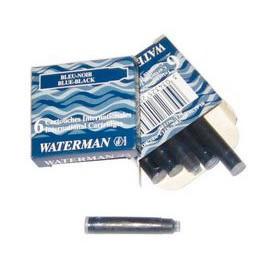 Картриджи Waterman Lady син. 6шт 52 017
