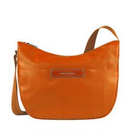 Сумка женская Piquadro AKI/Orange наплечная бол. с чехлом д/iPad/iPad Air (39,5x31x16) BD3290AK_AR