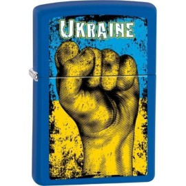 Зажигалка Zippo Classics Ukraine Fist Royal Matte Zp229uf