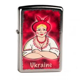 Зажигалка Zippo Classics Ukraine Love Street Chrome Zp207ul