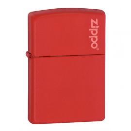 Зажигалка Zippo Classics w/Zippo Logo Red Matte Zp233zl