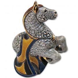 Фигурка De Rosa Rinconada Families Zodiac Конь серый Dr165g-f-47