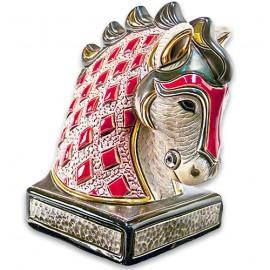 Фигурка De Rosa Rinconada Book End Конь Красный Dr01r-be