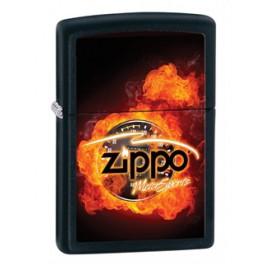 Зажигалка Zippo Classics MotorSports Black Matte Zp28335