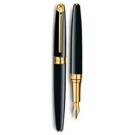 Перьевая ручка Caran d'Ache Leman Lacque Black Ca4799-282