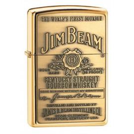 Зажигалка Zippo Classics Jim Beam Emblem High Polish Brass Zp254bjb.929