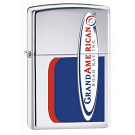 Зажигалка Zippo Classics Grand American Road Racing High Polish Chrome Zp306