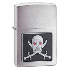 Зажигалка Zippo Classics Piercing Eye Pirate Brushed Chrome Zp20881