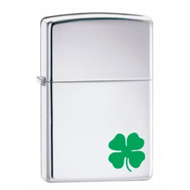 Зажигалка Zippo Classics A Bit O`Luck High Polish Chrome Zp24007