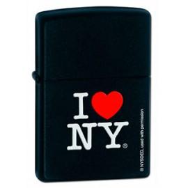 Зажигалка Zippo Classics I Love NY Black Matte Zp24798