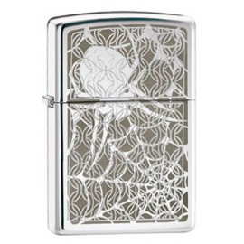 Зажигалка Zippo Classics Hidden Spider High Polish Chrome Zp28052