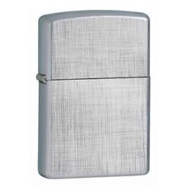 Зажигалка Zippo Classics Linen Weave Brushed Chrome Zp28181