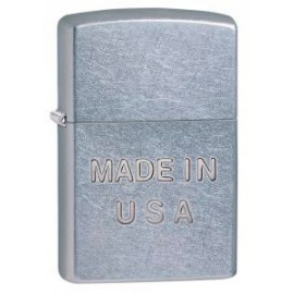 Зажигалка Zippo Classics Made In USA Embossed Street Chrome Zp28491