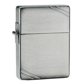 Зажигалка Zippo Replica Vintage Brushed Chrome with Slashes Zp1935