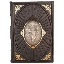 Книга Библия с иконой серебро Casa d'Oro Cdo58332