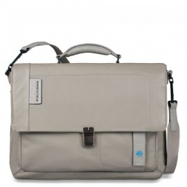 Портфель Piquadro с отдел. д/ноутбука/iPad/iPad Air/iPad mini со сьемным ремнем PULSE/Grey CA3111P15_GR