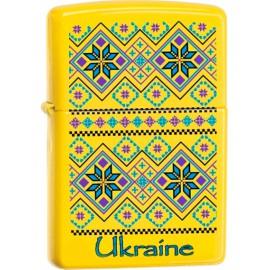 Зажигалка Zippo Classics Ukraine Pattern Lemon Zp24839up
