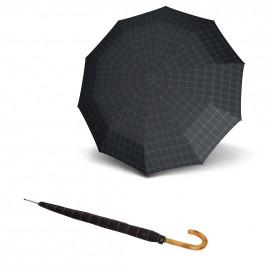 Зонт трость Knirps Long Automatic Check Black&Blue Kn79923557