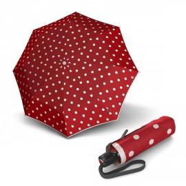 Складной зонт Knirps T.100 Small Duomatic Dot Art Red Kn9531004903