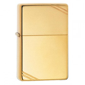 Зажигалка Zippo Replica 1937 Vintage w/Slashes High Polish Brass Zp270
