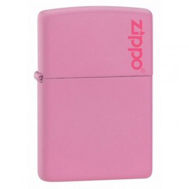 Зажигалка Zippo Classics w/Zippo Logo Pink Matte Zp238zl
