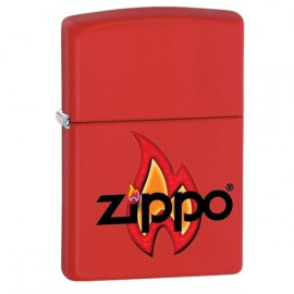 Зажигалка Zippo Classics Flame Red Matte Zp28571