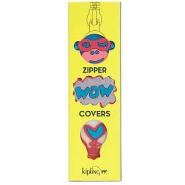Комплект из трех крышек для молнии Kipling BTS PULLERS MIX/Pink Glow Mix K00107_22Z