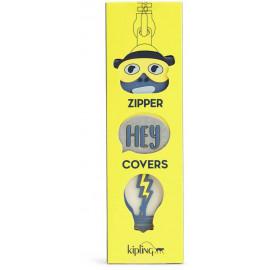 Комплект из трех крышек для молнии Kipling BTS PULLERS MIX/Yellow Glow Mix K00107_24F
