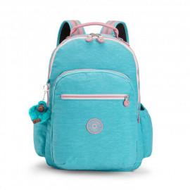Рюкзак для ноутбука Kipling SEOUL GO/Bright Aqua C K21316_19T