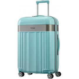 Чемодан на 4 колесах Titan SPOTLIGHT FLASH/Mint Средний Ti831405-81
