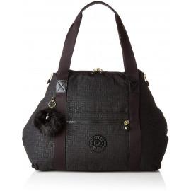 Женская сумка Kipling ART M/Black Pylon Emb K25748_47K