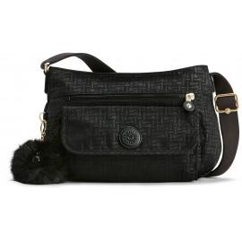 Женская сумка Kipling SYRO/Black Pylon Emb K12482_47K