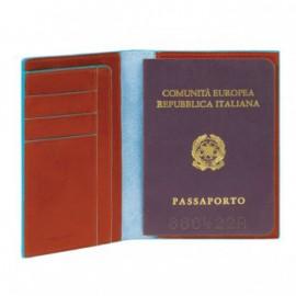 Обложка для паспорта Piquadro Blue Square PP1660B2_AR
