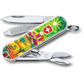 Складной нож Victorinox CLASSIC LE Mexican Sunset Vx06223.L1807