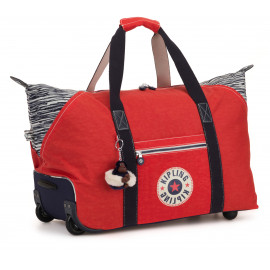 Дорожная сумка на колесах Kipling ART ON WHEELS M/Active Red Bl M Средняя KI3131_17M