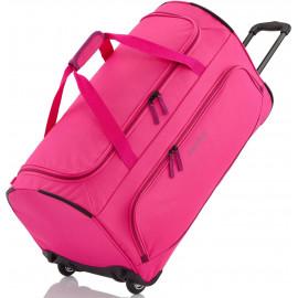 Дорожная сумка на колесах Travelite BASICS/Pink M Средняя TL096277-17