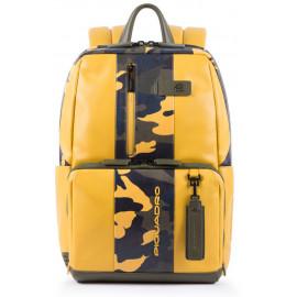 Рюкзак для ноутбука Piquadro BAGMOTIC/CamoYellow CA3214UB00BM_CAMOG