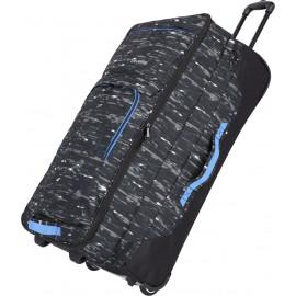 Дорожная сумка на колесах Travelite BASICS/Black Print TL096338-02