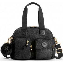 Женская сумка Kipling DEFEA UP/Black Pylon Emb KI2501_47K