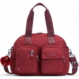 Женская сумка Kipling DEFEA UP/Burnt Carmine C KI2500_47F