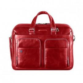 Портфель Piquadro BL SQUARE/Red дворучн. с отдел. для iPad/ноутбука (39x28,5x10,5) CA2849B2_R