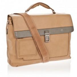 98114a60f93f Портфель Piquadro Vibe на 2 отделения с фронт. карманом и с отделением для  ноутбука (