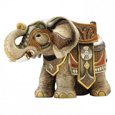 Фигурка De Rosa Rinconada Large Wildlife Слон Боевой (лим.вып. 2000 шт) Dr450-22